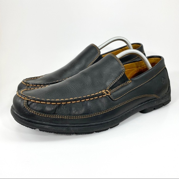 Gold Cup Leather Venetian Moc Loafer